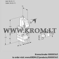 Pressure regulator VAD125R/NW-50A (88000365)