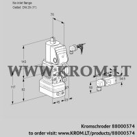 Pressure regulator VAD1-/25R/NW-50A (88000374)