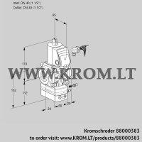 Air/gas ratio control VAG240R/NWAE (88000383)