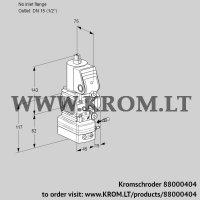 Air/gas ratio control VAG1-/15R/NWBE (88000404)