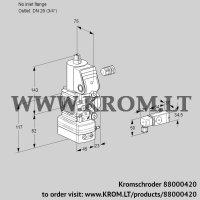 Pressure regulator VAD1-/20R/NQ-100A (88000420)