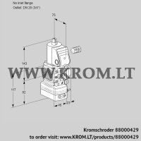 Pressure regulator VAD1-/20R/NW-100A (88000429)