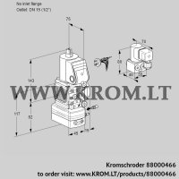 Air/gas ratio control VAG1-/15R/NWBE (88000466)