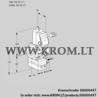 Air/gas ratio control VAG125R/NWAE (88000497)
