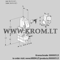 Air/gas ratio control VAG115R/NWBE (88000515)