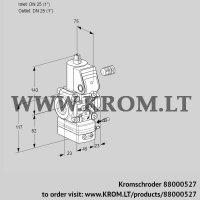 Air/gas ratio control VAG125R/NWAE (88000527)