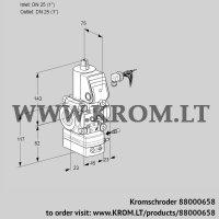 Air/gas ratio control VAG125R/NKAE (88000658)