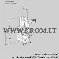 Air/gas ratio control VAG1-/15R/NWBE (88000690)