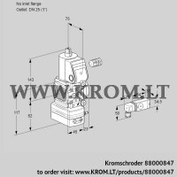 Pressure regulator VAD1-/25R/NW-100A (88000847)