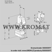 Pressure regulator VAD1-/25R/NW-100A (88000897)