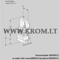 Pressure regulator VAD1-/25R/NW-25A (88000911)