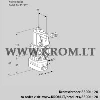Air/gas ratio control VAG1-/15R/NKBE (88001120)