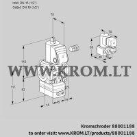 Pressure regulator VAD115R/NW-50B (88001188)