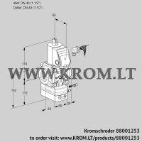 Air/gas ratio control VAG240R/NWAE (88001253)