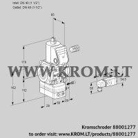 Air/gas ratio control VAG240R/NWAE (88001277)
