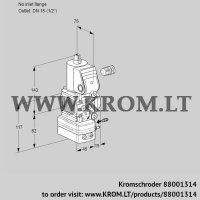 Air/gas ratio control VAG1-/15R/NWBK (88001314)