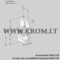 Pressure regulator VAD1-/25R/NQ-50A (88001350)