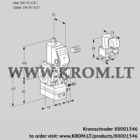 Air/gas ratio control VAG115R/NWBE (88001546)