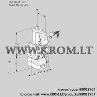 Pressure regulator VAD115R/NW-100B (88001907)