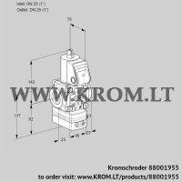 Air/gas ratio control VAG1T25N/NQAA (88001955)