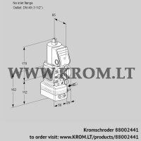 Air/gas ratio control VAG2-/40R/NWAE (88002441)