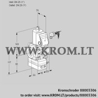 Pressure regulator VAD125R/NW-100A (88003306)