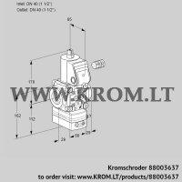 Pressure regulator VAD240R/NW-100A (88003637)