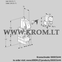 Pressure regulator VAD125R/NW-100A (88003644)