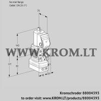 Air/gas ratio control VAG1T-/25N/NQAA (88004393)