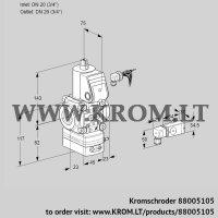 Pressure regulator VAD120R/NW-100A (88005105)