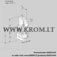 Air/gas ratio control VAV1-/25R/NWAK (88005449)