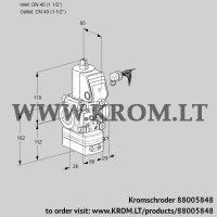 Pressure regulator VAD240R/NW-100A (88005848)