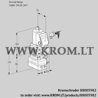 Pressure regulator VAD1-/20R/NW-100A (88005982)