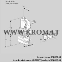 Pressure regulator VAD1-/20R/NW-100A (88006744)