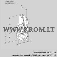 Pressure regulator VAD1T20N/NQSR-100A (88007113)