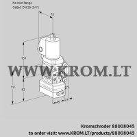 Air/gas ratio control VAG1T-/20N/NQSLAA (88008045)