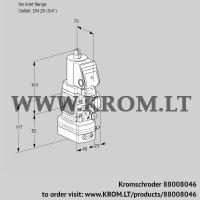 Air/gas ratio control VAG1T-/20N/NQSRAA (88008046)