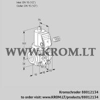 Gas solenoid valve VAN115R/NW (88012134)