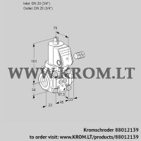 Gas solenoid valve VAN120R/NQ (88012139)