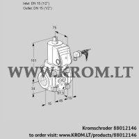 Gas solenoid valve VAN115R/NW (88012146)