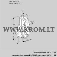Gas solenoid valve VAN120R/NWSR (88012159)