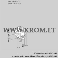Fine-adjusting valve VMV115R05P (88012861)