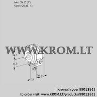 Fine-adjusting valve VMV125R05P (88012862)
