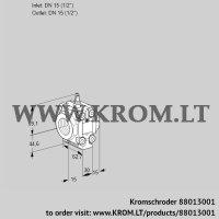 Measuring orifice VMO115R05M06 (88013001)