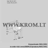 Measuring orifice VMO120R05M12 (88013002)