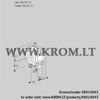 Measuring orifice VMO125N05M20 (88014043)