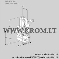 Pressure regulator VAD225/40R/NW-100A (88014121)