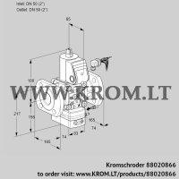 Flow rate regulator VAH350F/NWAE (88020866)