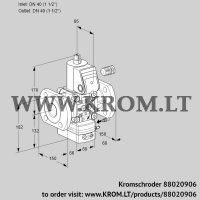 Flow rate regulator VAH240F/NWAE (88020906)