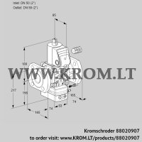 Flow rate regulator VAH350F/NWAE (88020907)